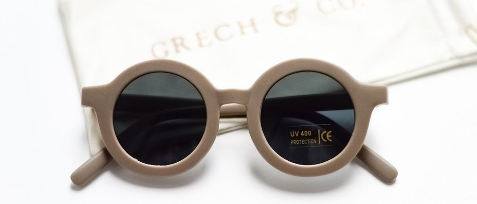 Grech & Co SUSTAINABLE KIDS SUNGLASSES // STONE