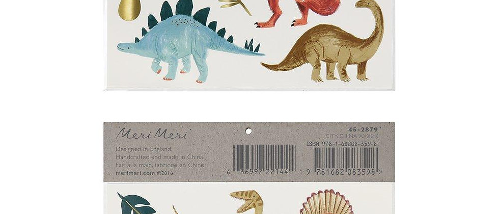 Meri Meri - Dinosaur Kingdom Large Tattoos
