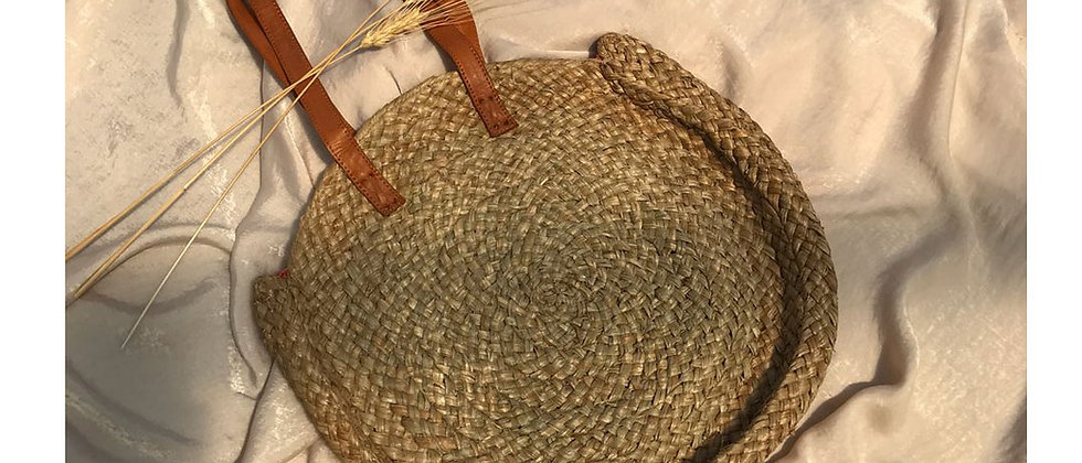 Straw Bag -Luna
