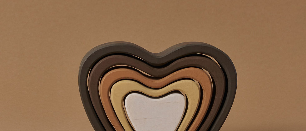 Heart arch stacker