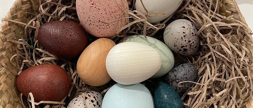 [Moon Picnic] A Dozen Bird Eggs in a box