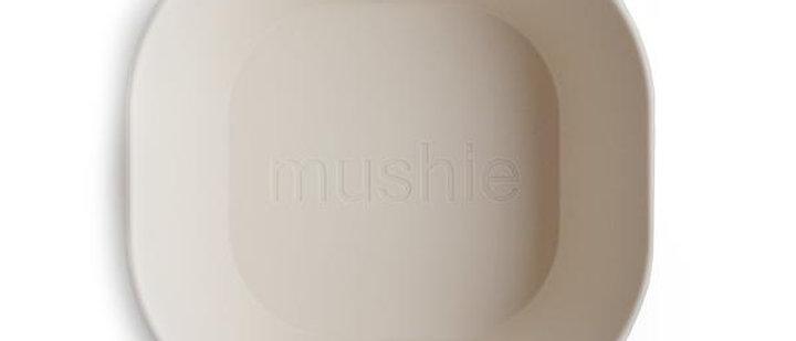 Square Dinnerware Bowl, Set of 2 (Ivory)