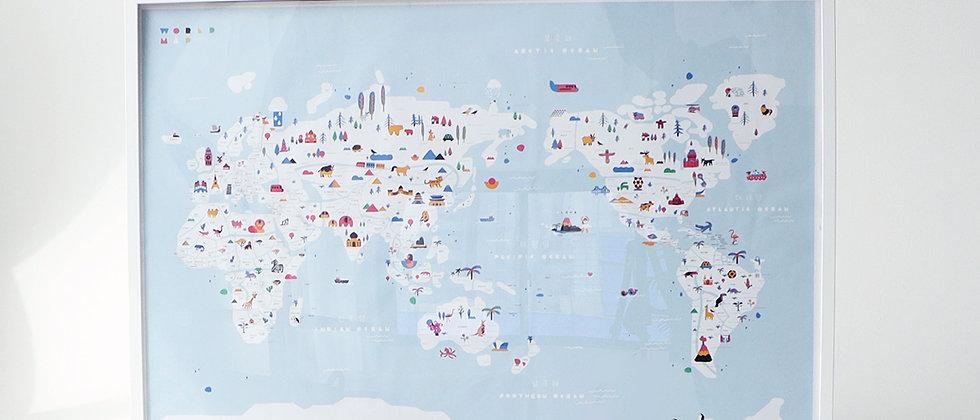 [HELLO! WORLD MAP]