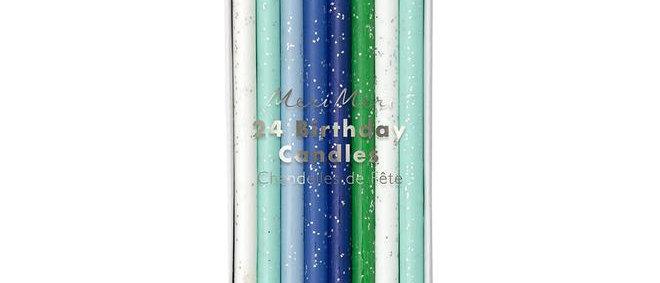 Meri Meri  Blue Candles