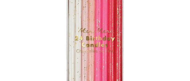 Meri Meri - Pink Candles