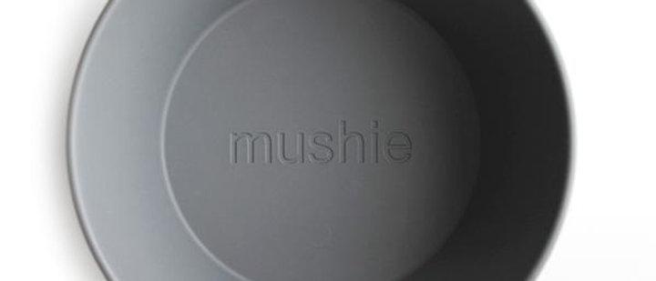 Round Dinnerware Bowl, Set of 2 (Smoke )