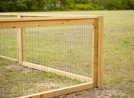 How to build a goat fence with a shelter in 3 days
