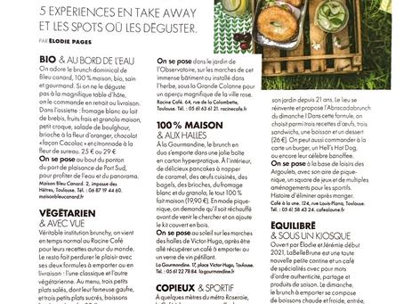 Merci au magazine Elle Toulouse  pour l'article !