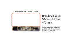 ZTag size and area for branding