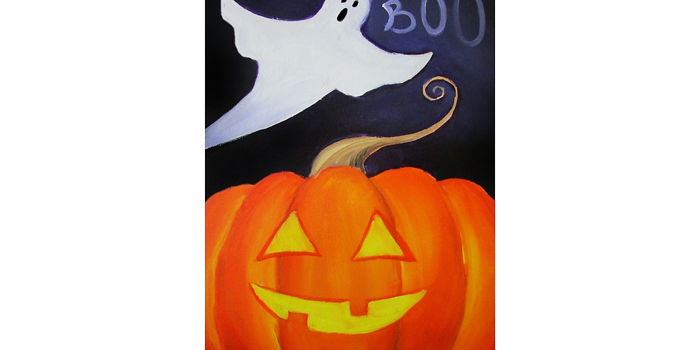 Boo - COOKIES & CANVAS