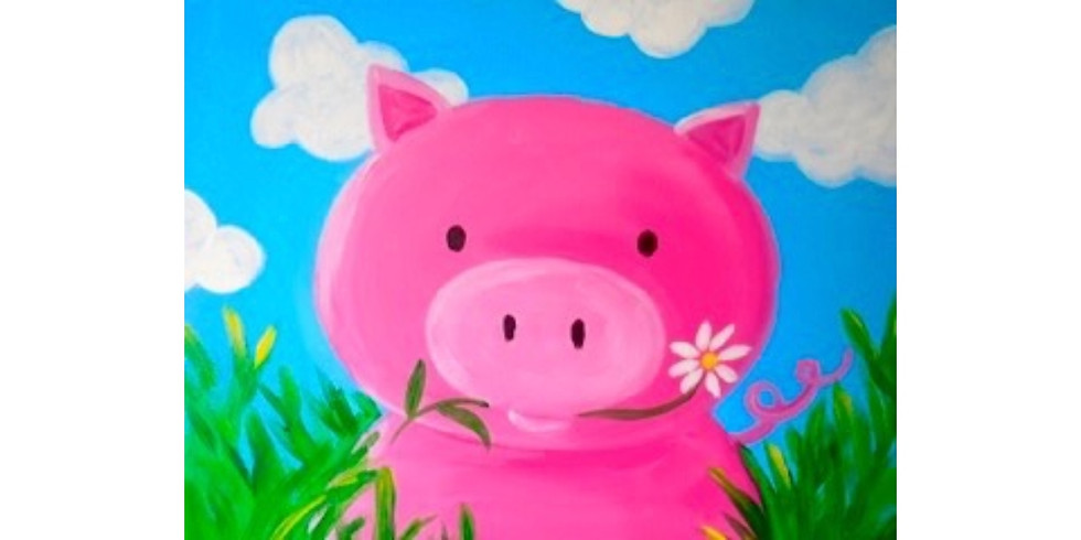 Little Piggy ~ COOKIES & CANVAS