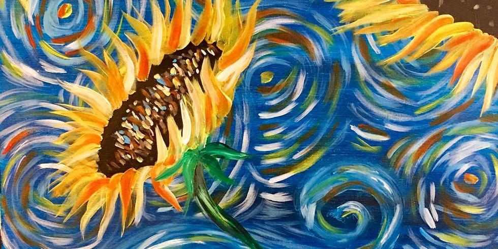 Starry Sunflowers -$10 Bottomless Mimosas