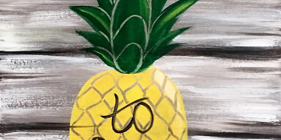 Welcome Pineapple *Special $25 & 1/2 off bottles of Wine!