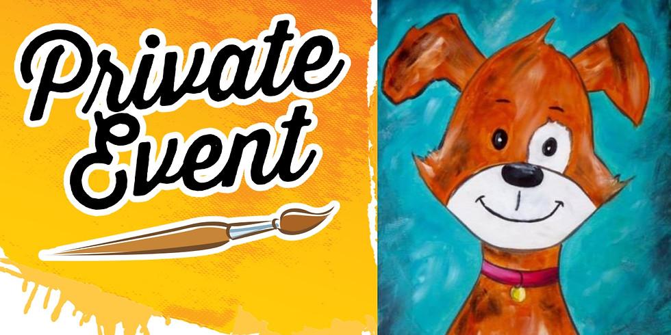Cookies & Canvas Fundraiser 11x14