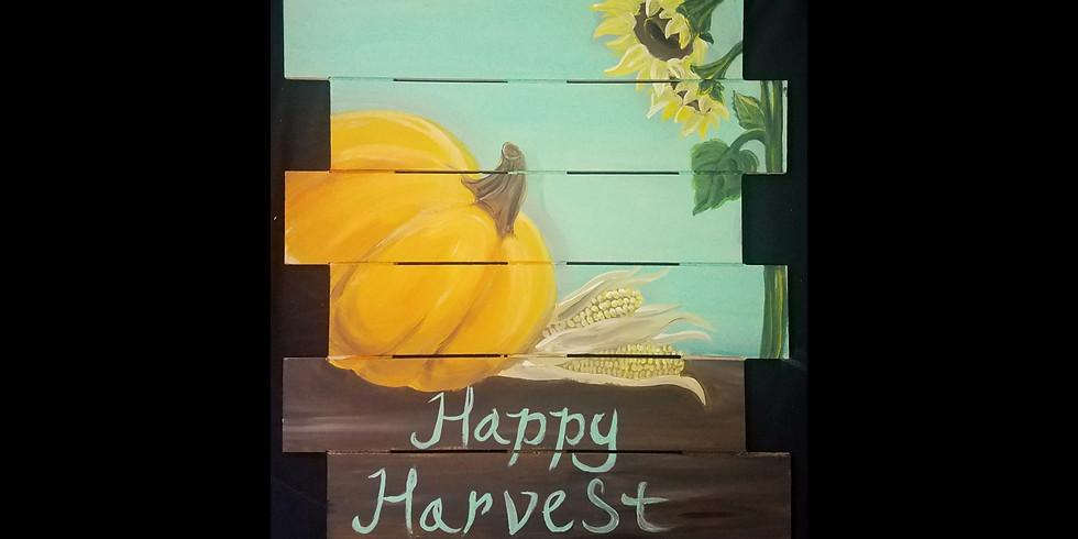 Happy Harvest Pallet ~ $10 Bottomless Mimosas!