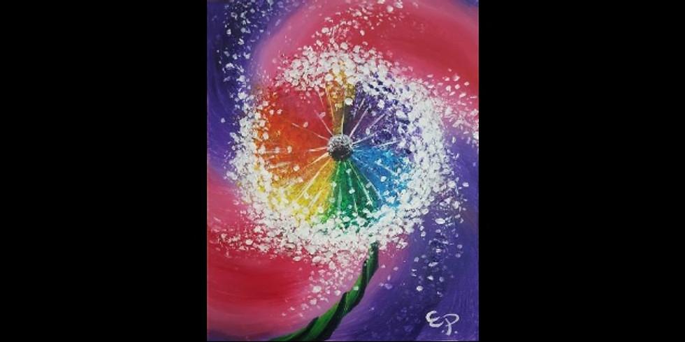 Wishful Blossom ~ COOKIES & CANVAS