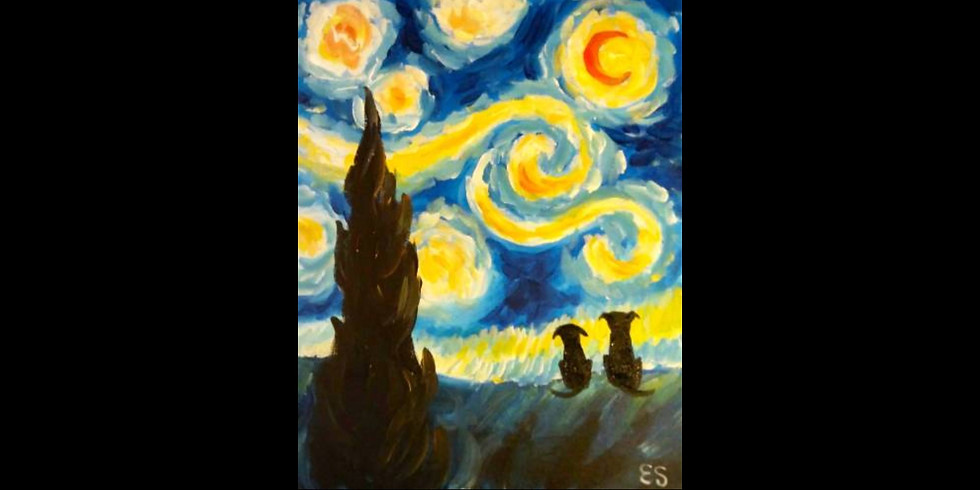 Starry Night Friends - Family Night Special $29