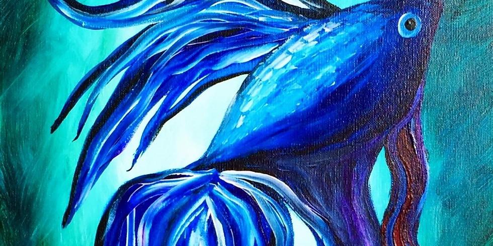 Blue Beta ~ COOKIES & CANVAS