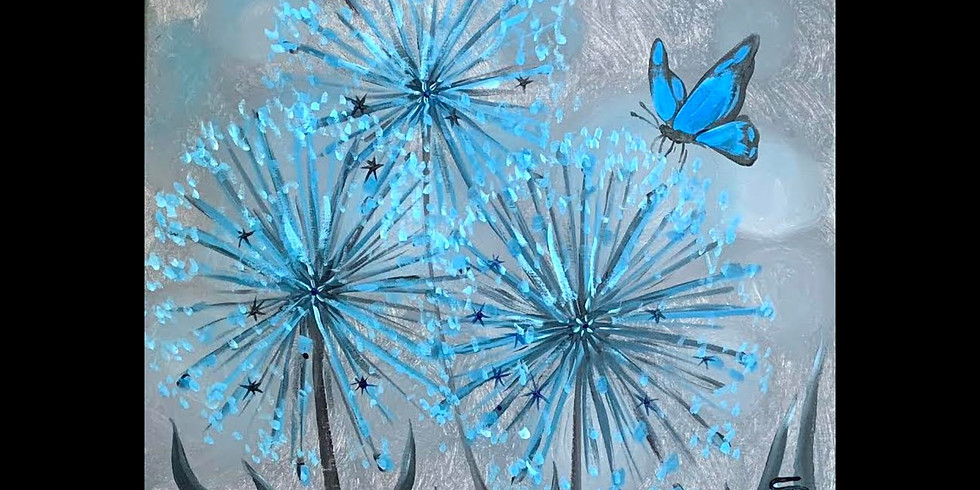 Blue Butterfly ~ $10 Bottomless Mimosas!
