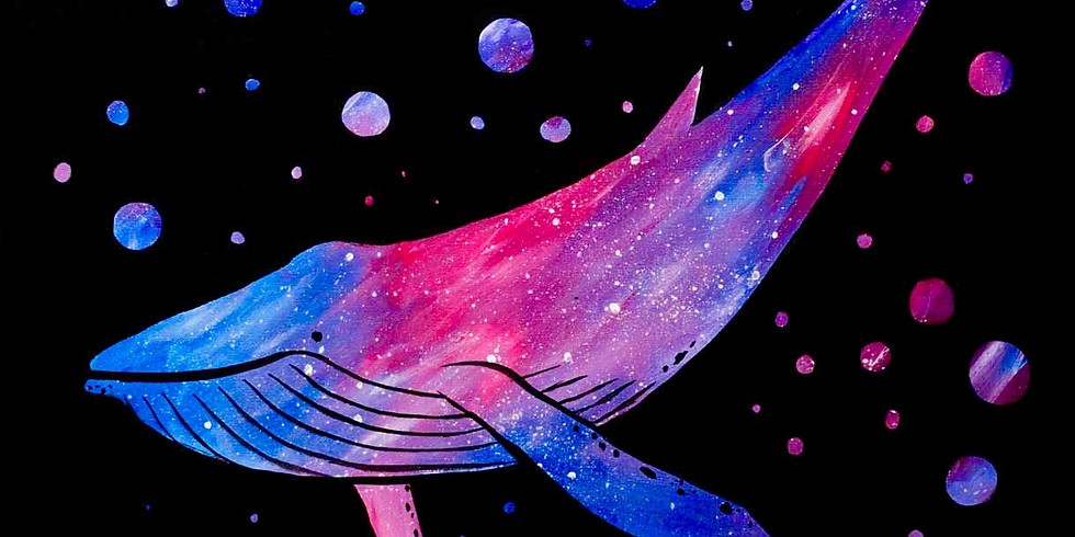 Galaxy Whale - Family Class $29