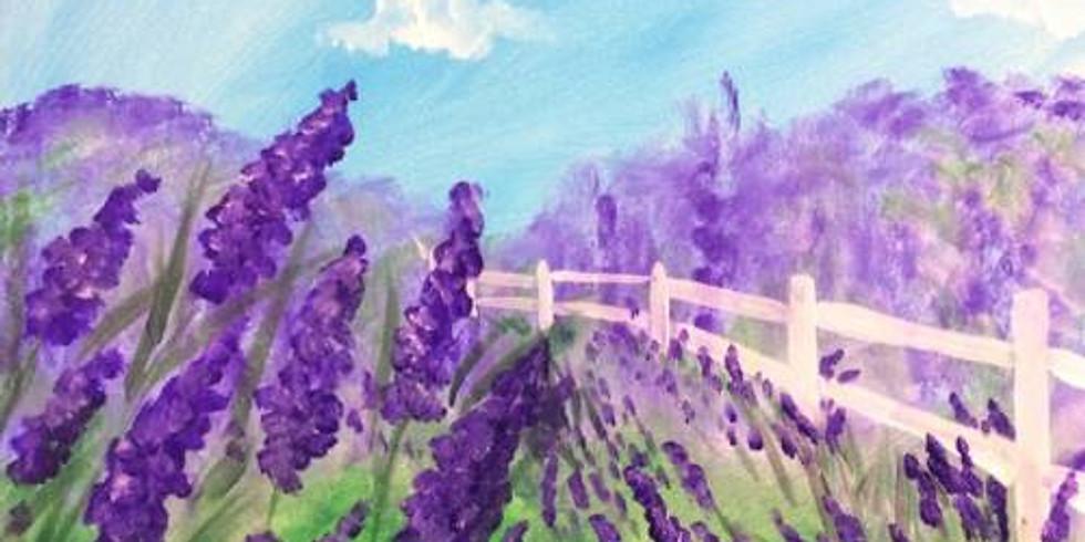 Lavender Fields - 1/2 off bottles of Wine!