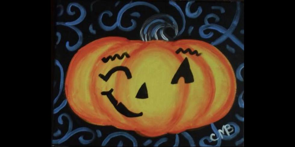 My Pumpkin ~ COOKIES & CANVAS