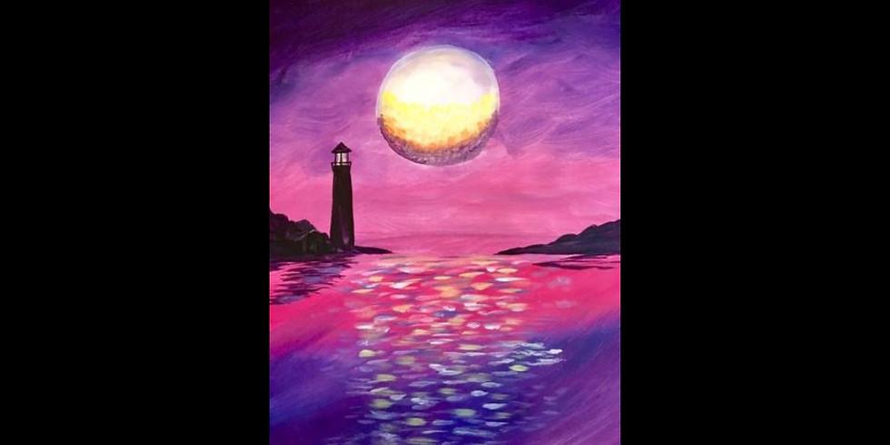 Evening Lighthouse ~ $4 Frozen Drinks!