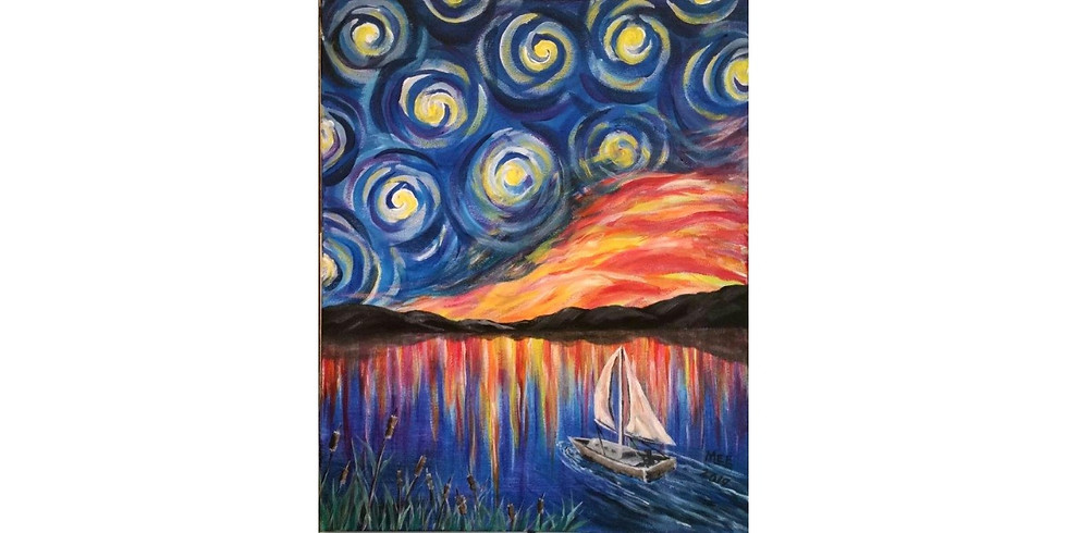 Van Gogh at the Lake - $2 Bottled Beer Special