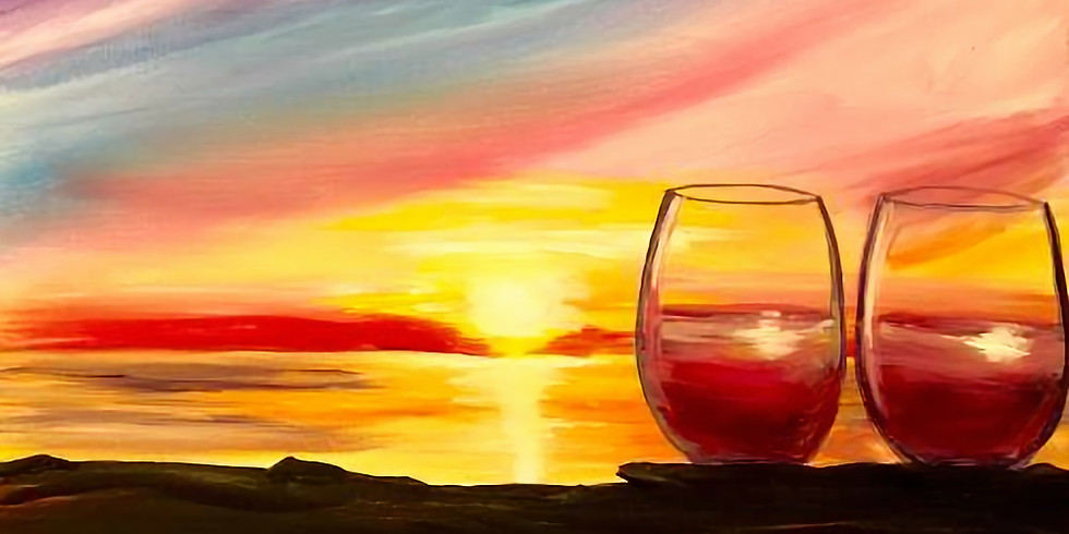 Wine at Sunset - $4 Frozen Drinks
