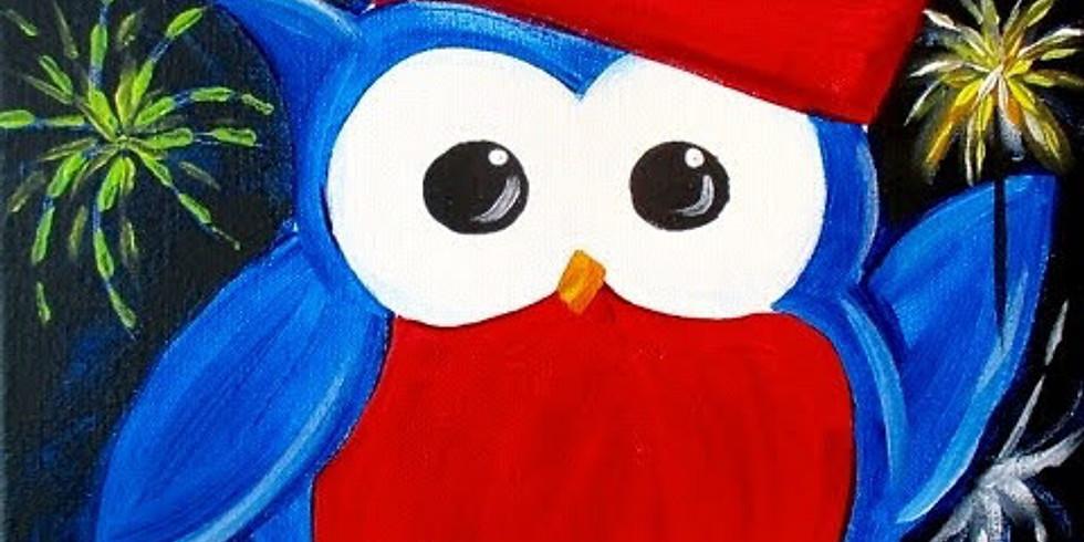 Celebrating Owl ~ COOKIES & CANVAS