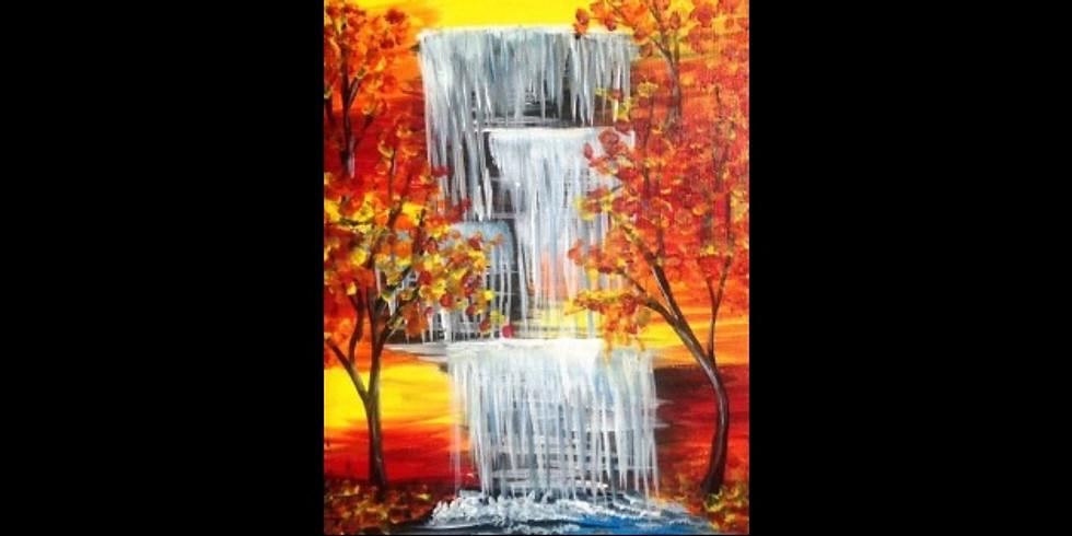 Autumn Falls - Cedar Springs