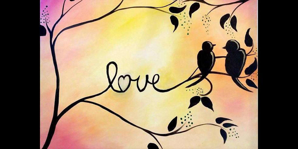 Love Birds - 1/2 off Bottles of Wine
