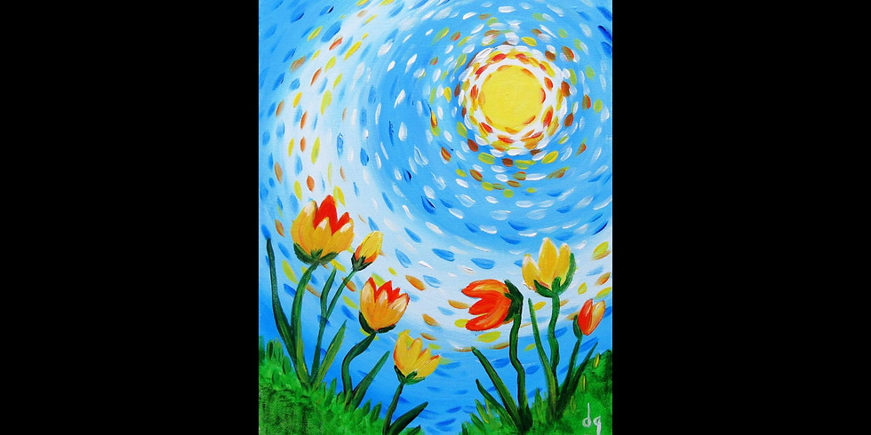 Ray of Sun ~ COOKIES & CANVAS