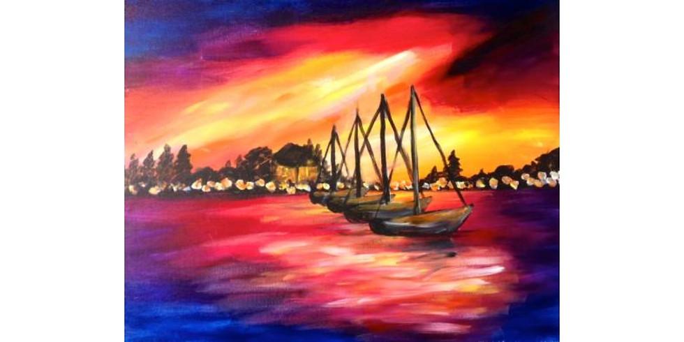 Marina Sunset ~ $3 Sangrias