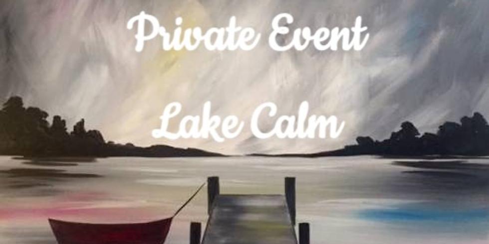DLCC Wine & Canvas - Lake Calm