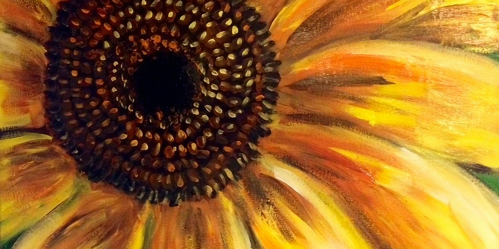 Sunflower Day - Afternoon Class - Marshall