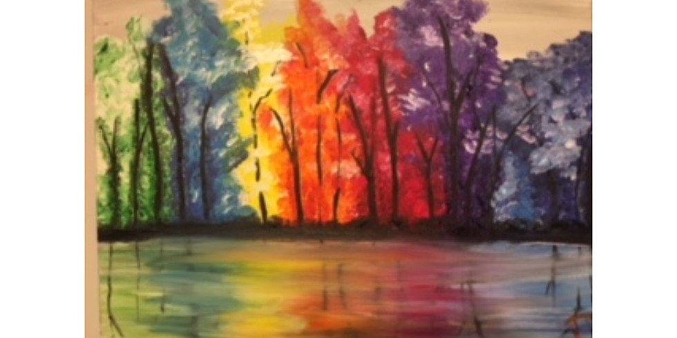 Fall Reflection - 1/2 off bottles of wine - Allendale