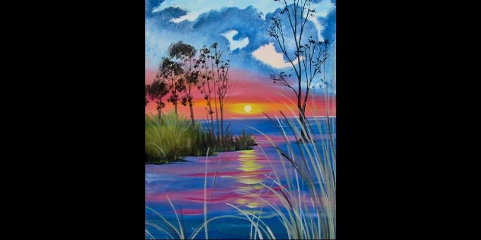 Lakeside Sunset - Newaygo