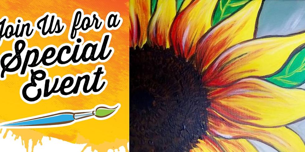 Holt Hops & Bops Expo Class - Happy Sunflower $10 - 3PM