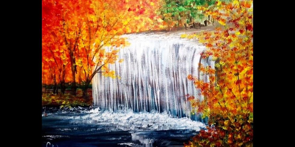 Michigan Autumn Falls - Marshall