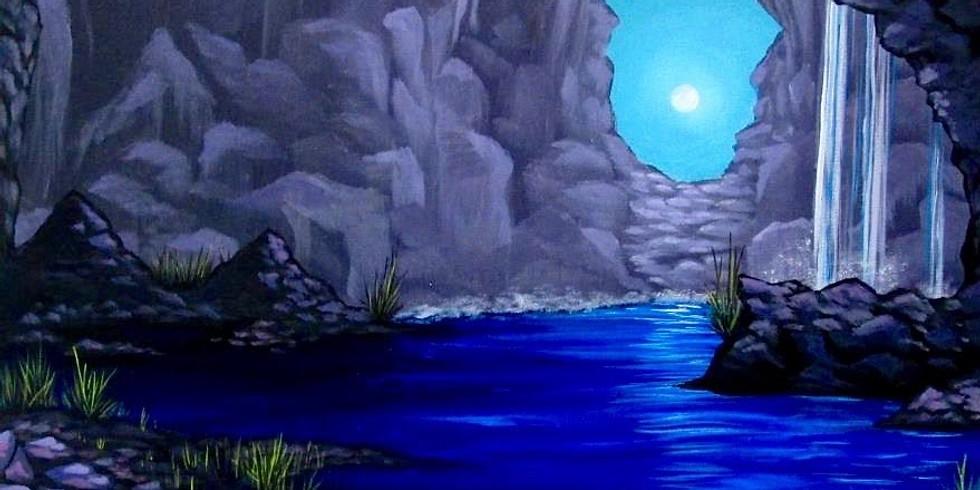 Cave at Moonlight - Jackson