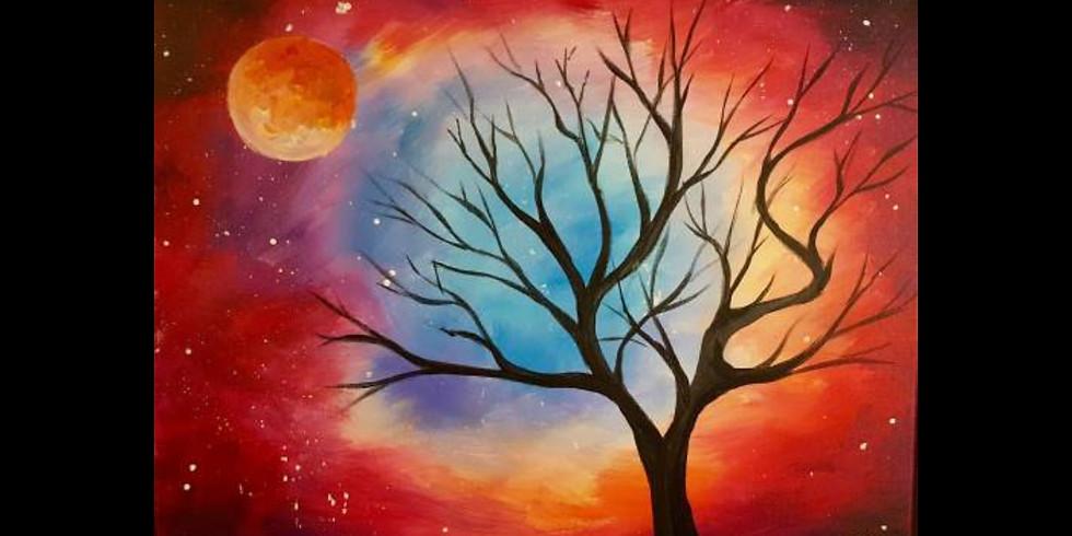 Cosmic Tree - 1/2 off bottles of wine