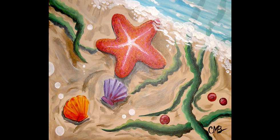 Star Fish by the Sea - 1/2 off Moscato Mixers