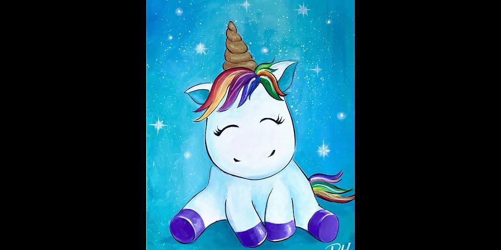 Cute Unicorn - COOKIES & CANVAS
