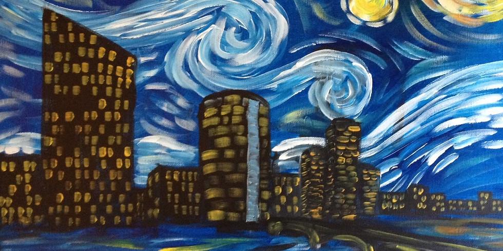 Grand Rapids Starry Night ~ $3 Sangrias