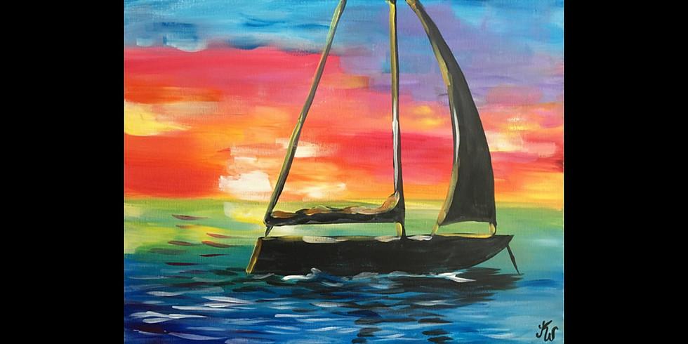 Sailing - COOKIES & CANVAS