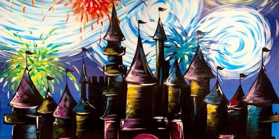 Starry Night Magical Castle - $3 Sangria Saturday ~ Potter Day!