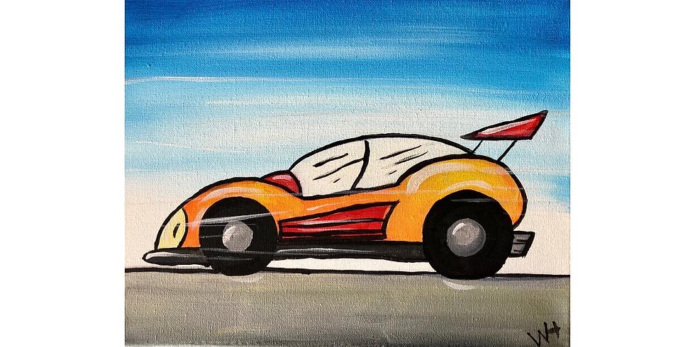 Race Car ~ COOKIES & CANVAS