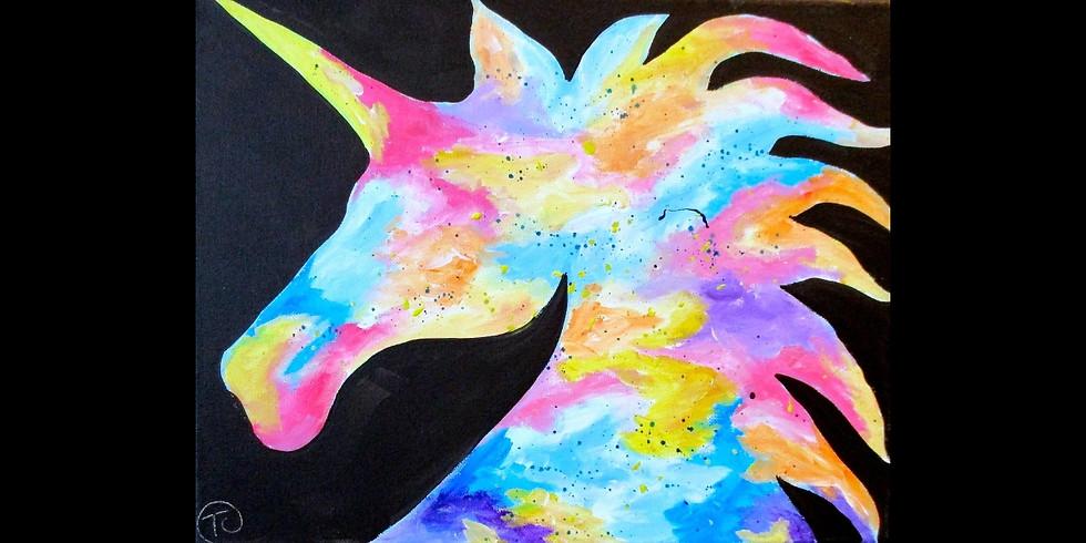 Majestic Unicorn ~ COOKIES & CANVAS