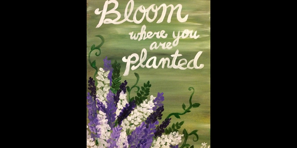 Bloom Where you are Planted -$10 Bottomless Mimosas